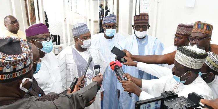 APC Crisis: Progressive governors pay `Thank You' visit to Buhari