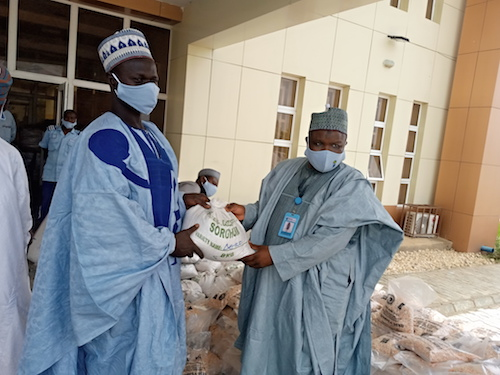Covid 19: BUK's Centre for Dryland Agriculture distributes palliatives to farmers from 22 communities