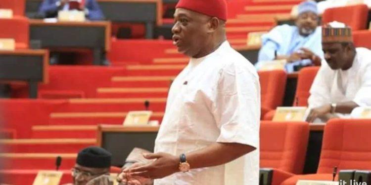 Orji Kalu resumes 'whipping' at Senate