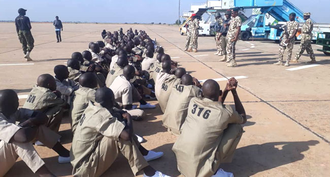 602 Boko Haram members denounce membership, pay allegiance to Nigeria