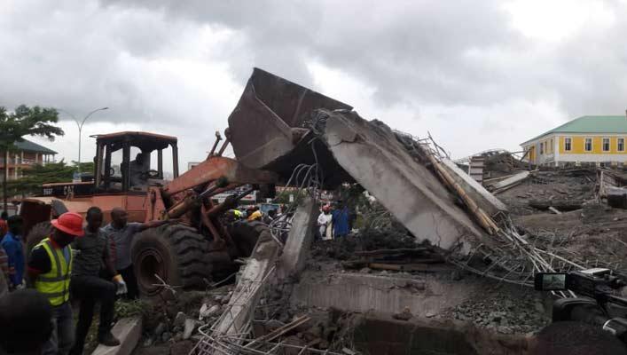 1 dies, 2 rescued as 2-storey building collapses in Lagos