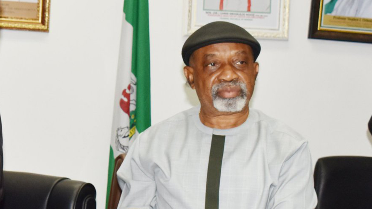 Minister of Labor Chris Ngige