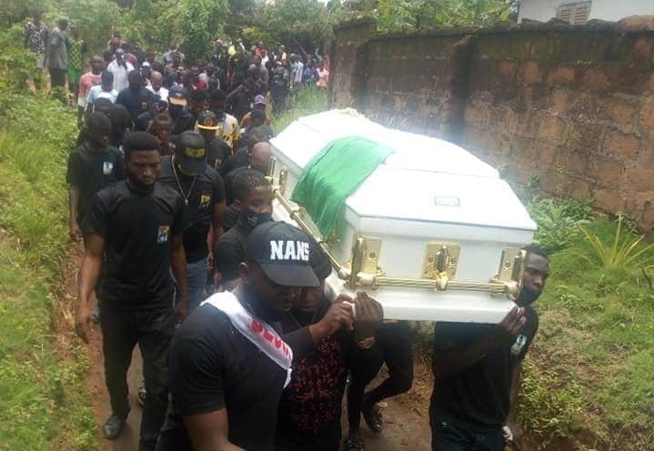 Tears, tributes as Anambra Gov's aide buried in hometown