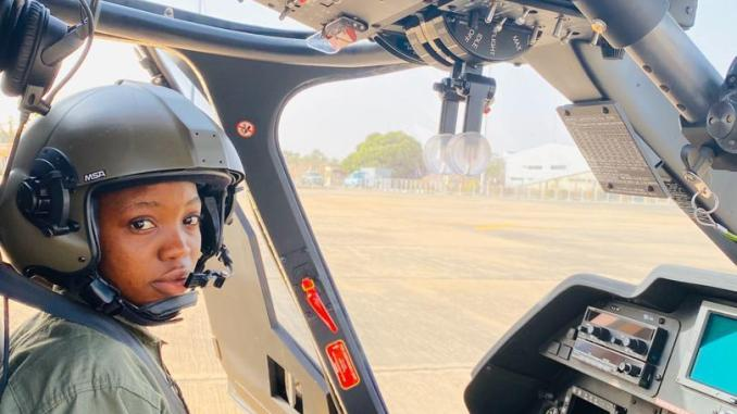 NAF 1st female combat helicopter pilot dies in road accident