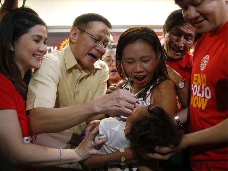 Philippines resumes mass polio immunisation campaign