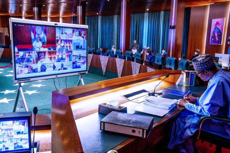 FEC Meeting: Olumide, Momah honoured as ministries of Finance, Environment, Mines & Steel make presentations