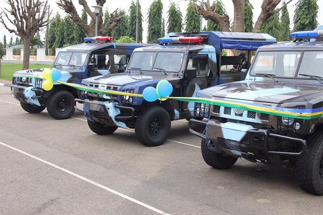 Innoson donates operational vehicles to Nigerian police