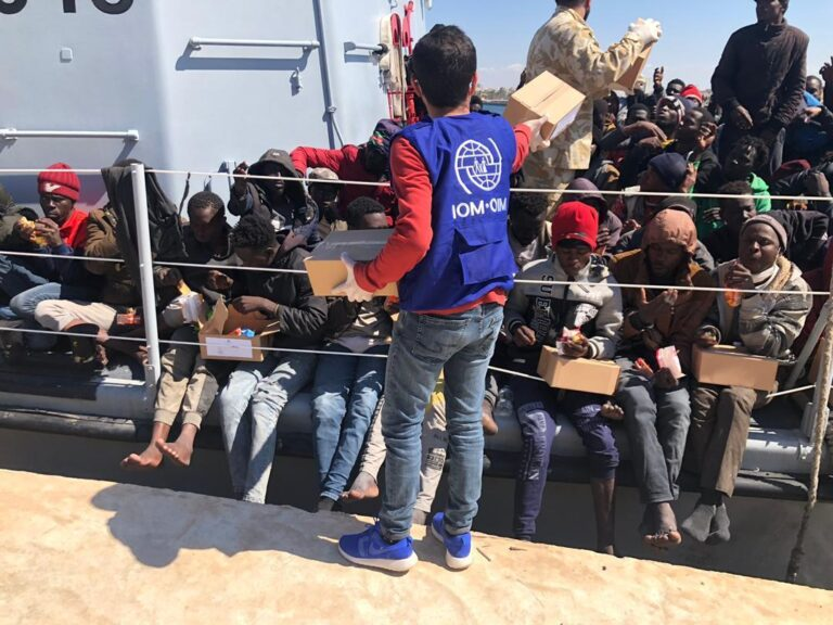 Over 6,800 illegal immigrants rescued off Libyan coast in 2020