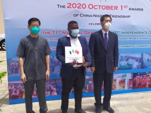 China honours 49 outstanding Nigerians