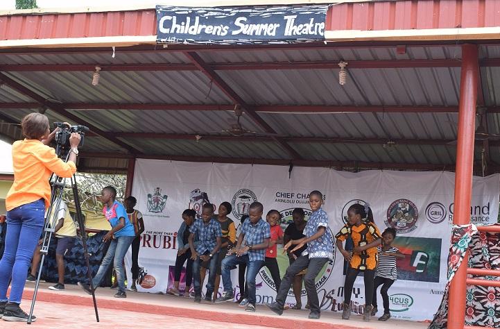 Foundation holds 2020 children's summer theatre in Abuja