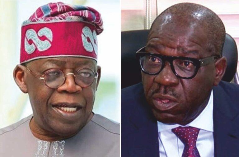 Obaseki replies Tinubu, says 'you can't extend your political empire to Edo'