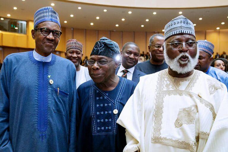 [JUST IN] #EndSARS: Buhari in 'consultative' meeting with former Nigerian leaders