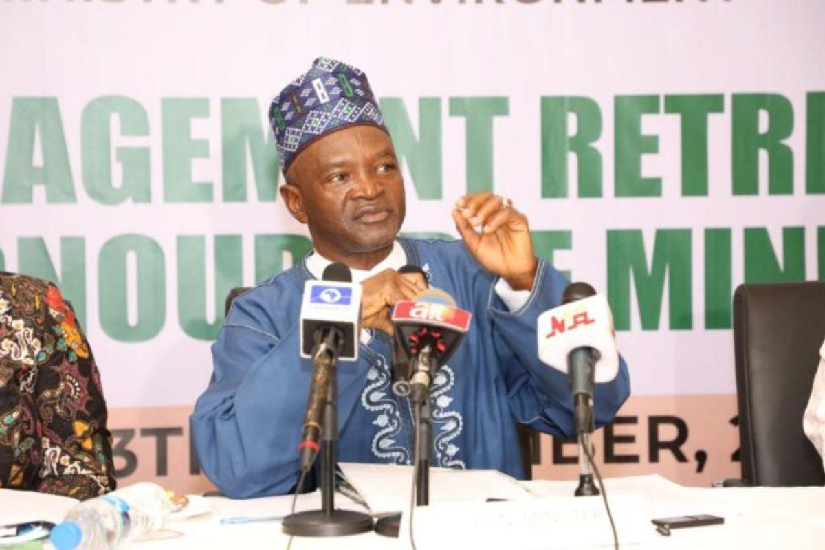 Minister of Environment Dr Mohammad Abubakar