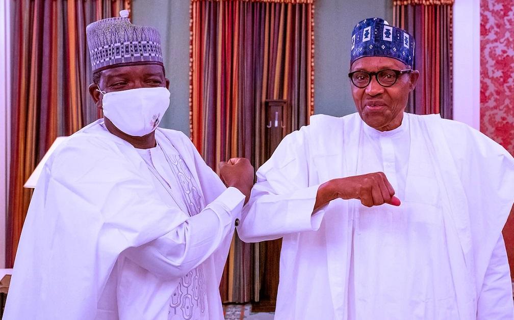 President Muhammadu Buhari and Governor Bello Matawalle of Zamfara State