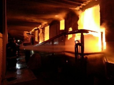 Kano Nursing School gutted by fire, 18 rooms, 8 toilets destroyed