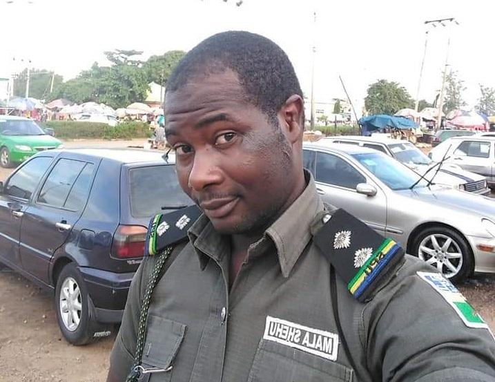 Mala B. Shehu, an Assistant Superintendent of Police, ASP.
