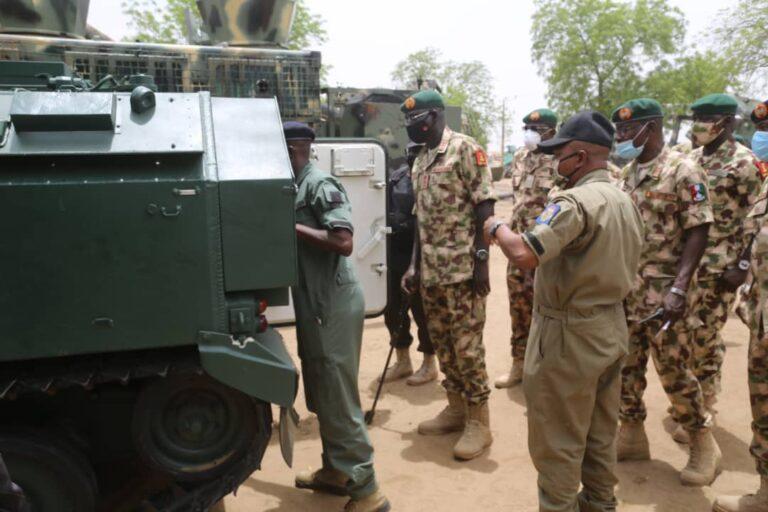 Nigerian Army inducts 8 locally made combat vehicles– Buratai