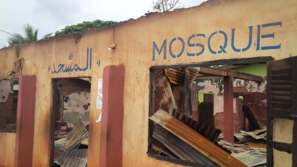 BREAKING: 2 mosques destroyed in fresh attack on Enugu Muslim community