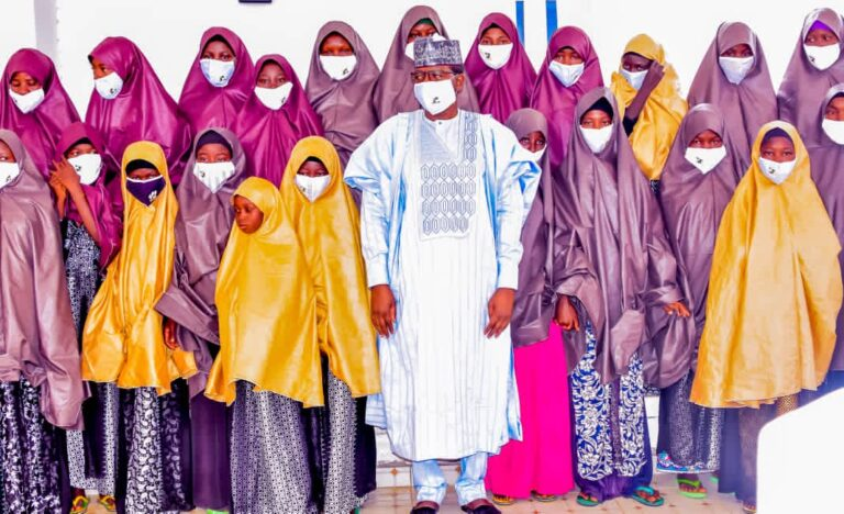 Matawalle secures unconditional release of 26 girls abducted in Katsina