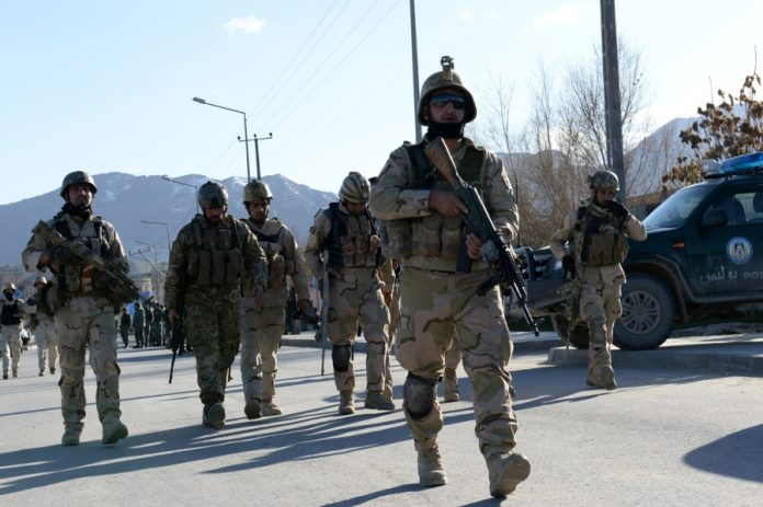 Afghan forces arrest 10 suspected Chinese spies