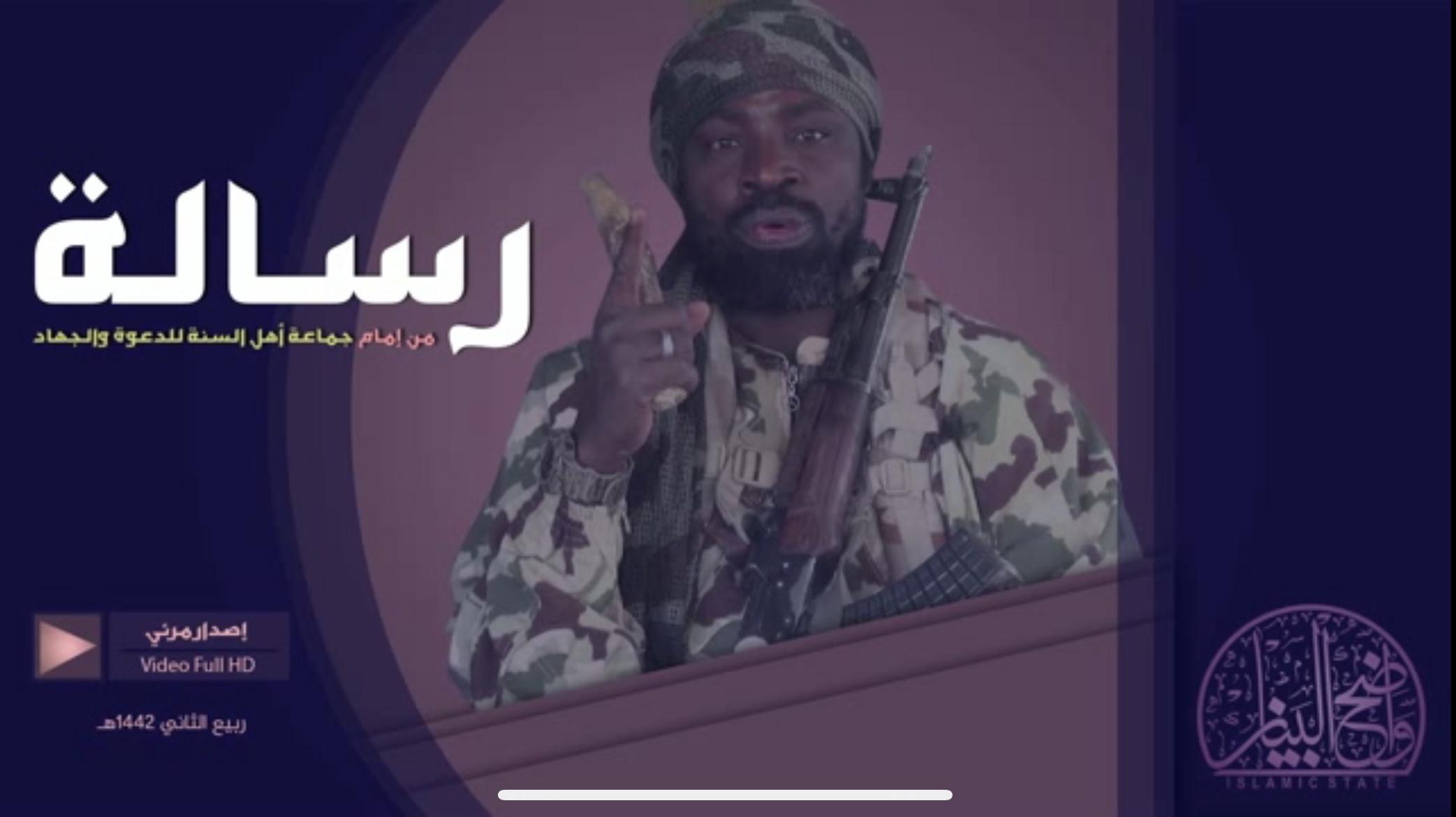 Leader of Boko Haram, Abubakar Shekau