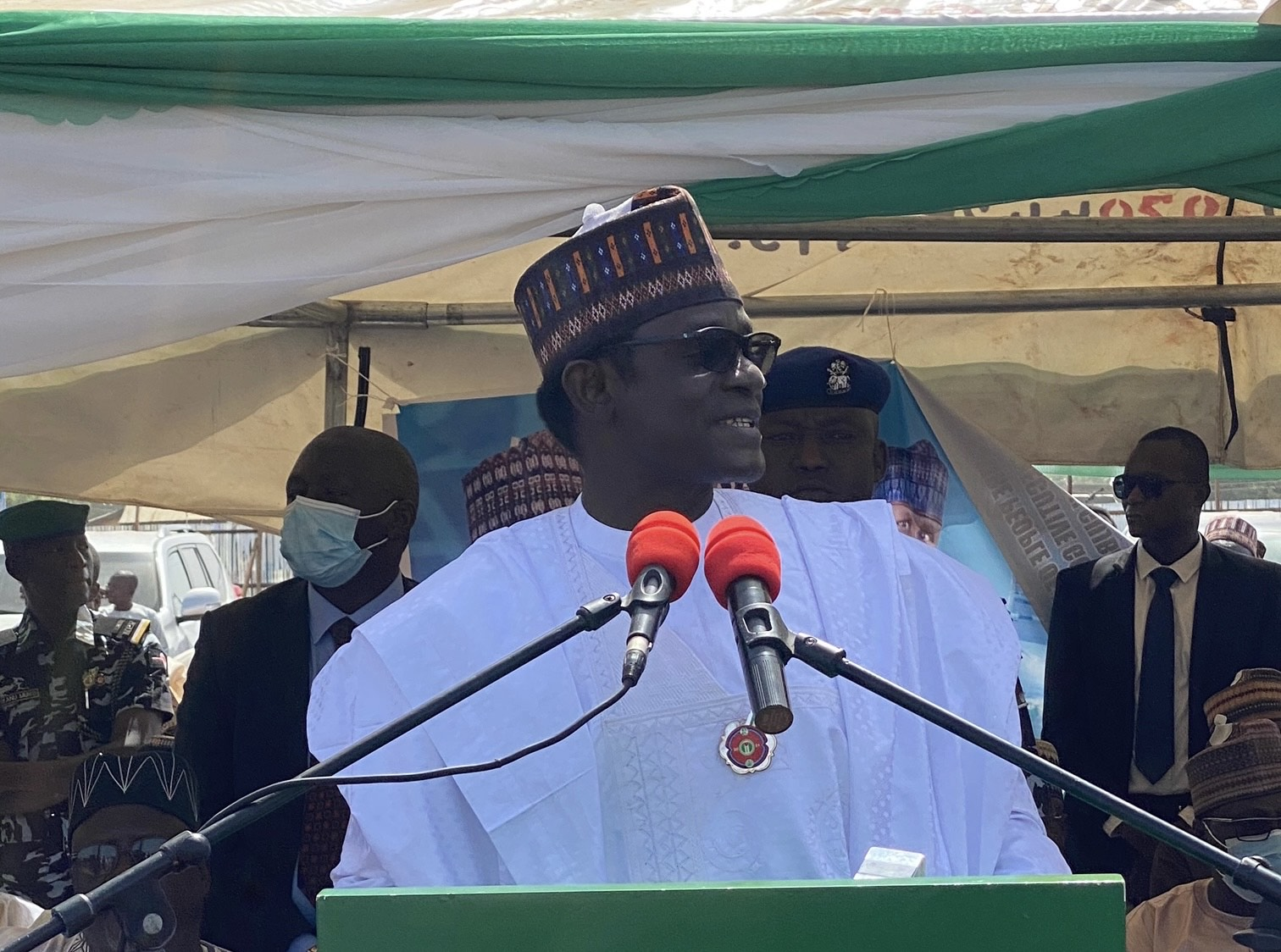 Governor Mai Mala-Buni of Yobe