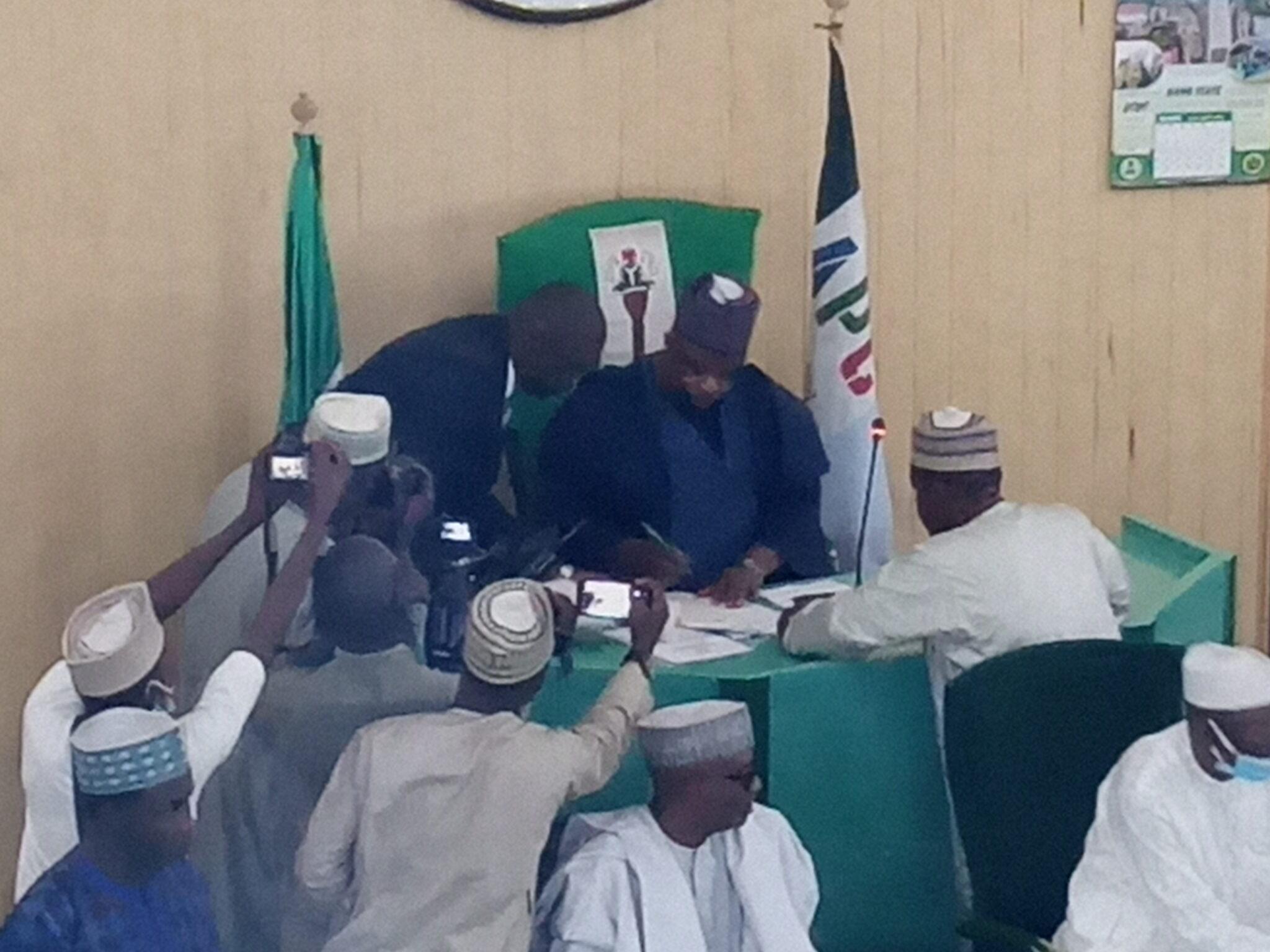 New Kano Assembly Speaker, Hamisu Ibrahim-Chidari