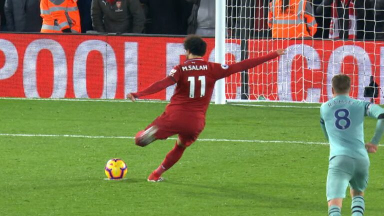 Salah's penalty kick salvages draw for off-key Liverpool at Fulham