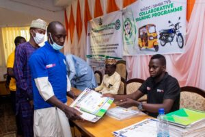 The trainees were drawn from three states of Sokoto, Abia and Edo, and at the end of the training, starter kits were distributed to the participants.
