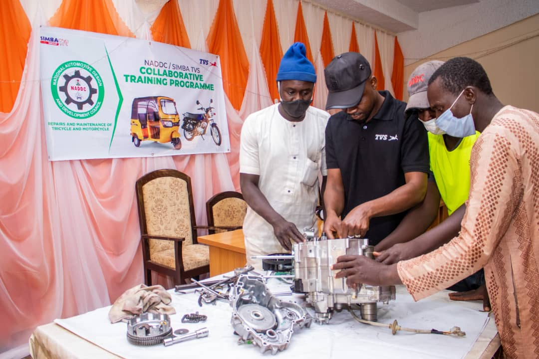 NADDC/SIMBA trains 260 youths on tricycle, motorcycle repairs