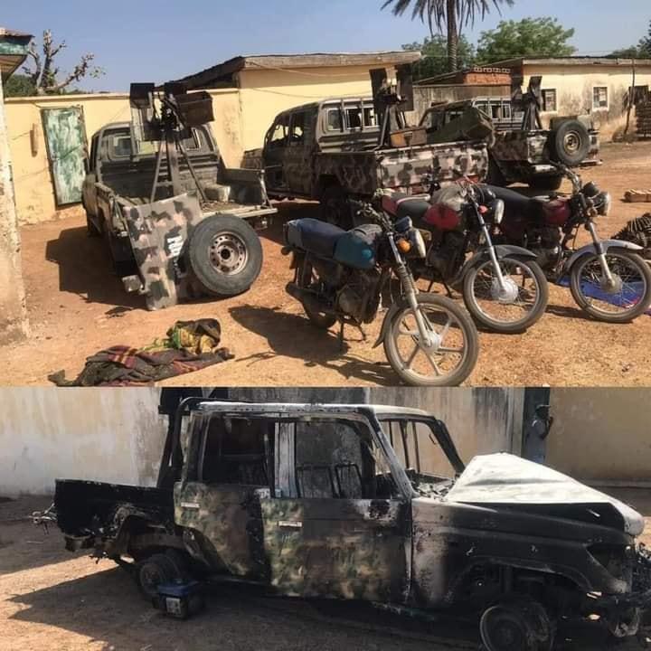 Nigerian Army captures gun trucks