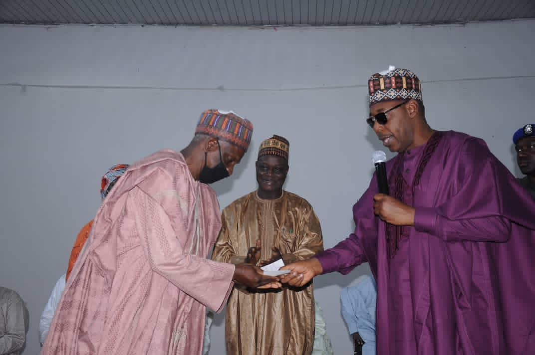 Gratuities: Zulum releases N12bn to 4,862 Borno retirees