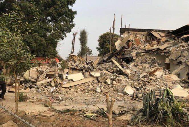 Kaduna govt demolishes over 50 houses around National Eye Centre