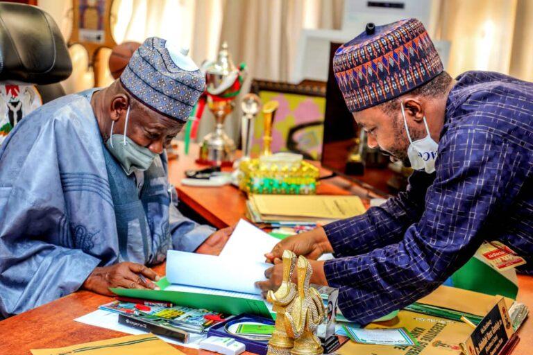 Ganduje signs Kano anti-corruption strategy blueprint