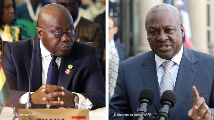 Ghana's incumbent, former presidents in tight race as elections begin