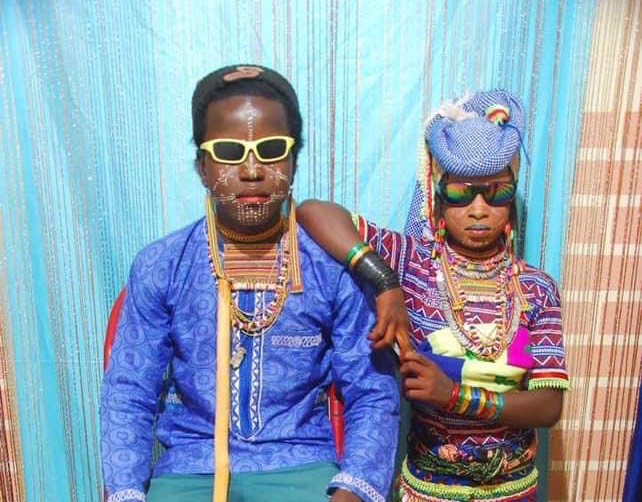A young Fulani couple