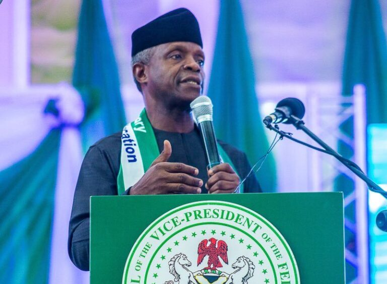 Broadband penetration, crucial for Nigeria's economic growth – Osinbajo