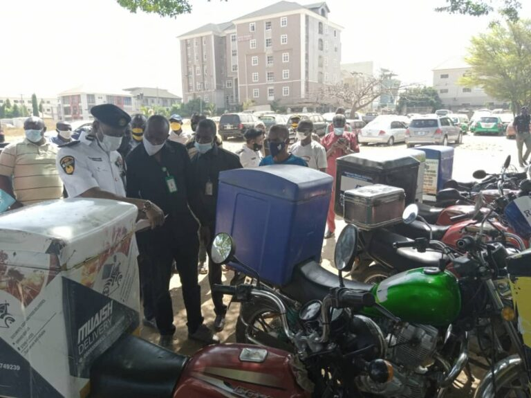 FCTA arrests 50 dispatch riders for traffic violations