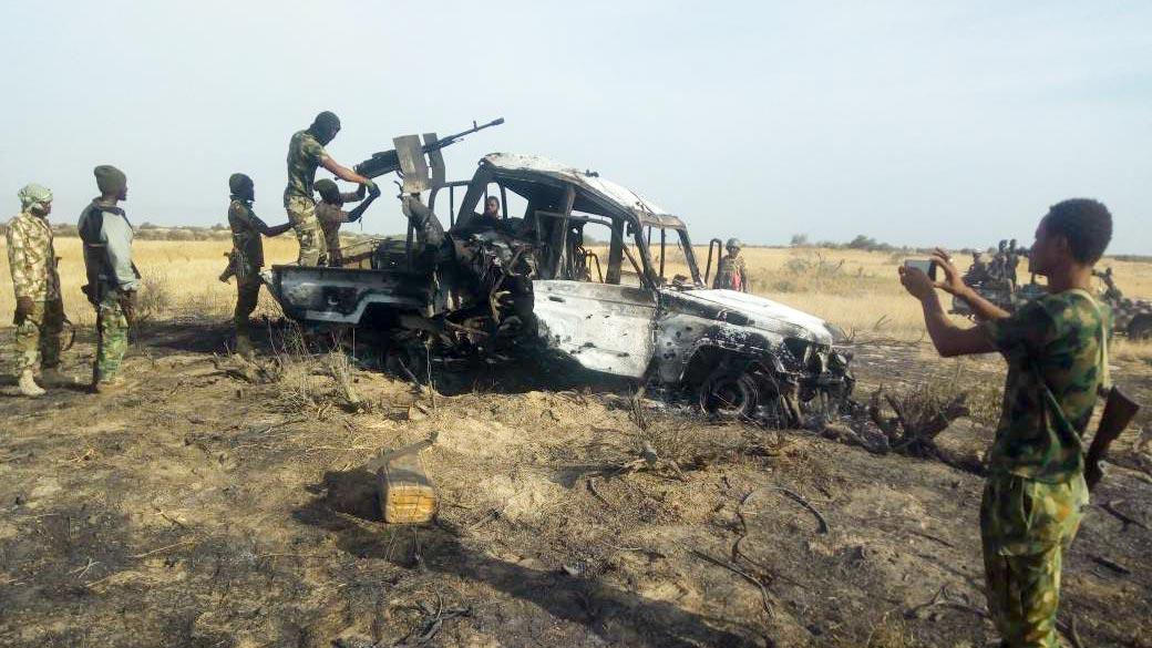 Boko Haram gun truck