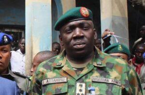 Major-General I. Attahiru, Chief of Army Staff