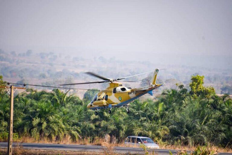 "Nigerian Air Force conducts exercise ""Taimako Ya Zo"" along Abuja-Kaduna expressway"