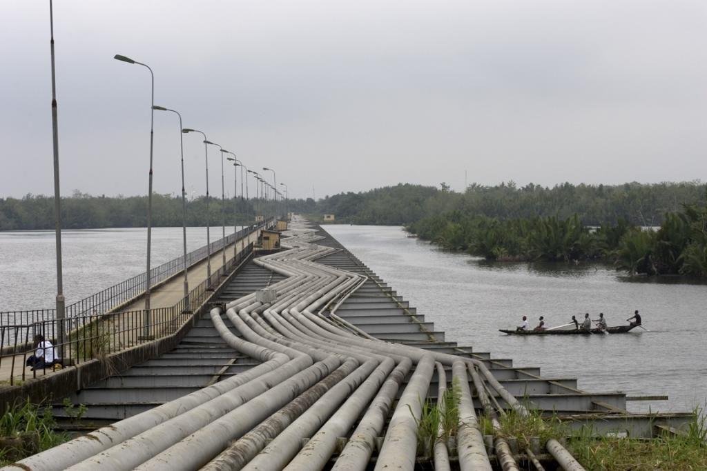 Oil pipelines, Niger-Delta