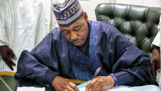 Governor Babagana Umara Zulum of Borno State