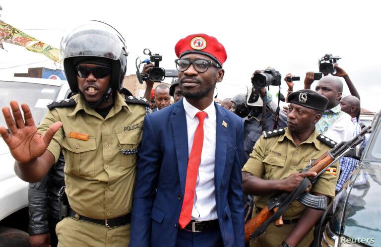 Uganda police arrest Bobi Wine