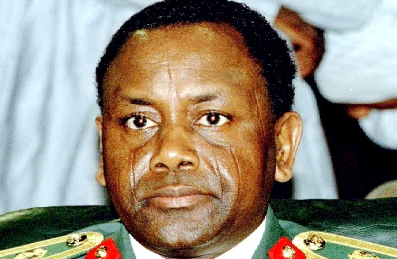Former Nigerian Head of State, late Gen. Sani Abacha