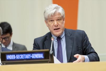UN suspends technology envoy over alleged harassment
