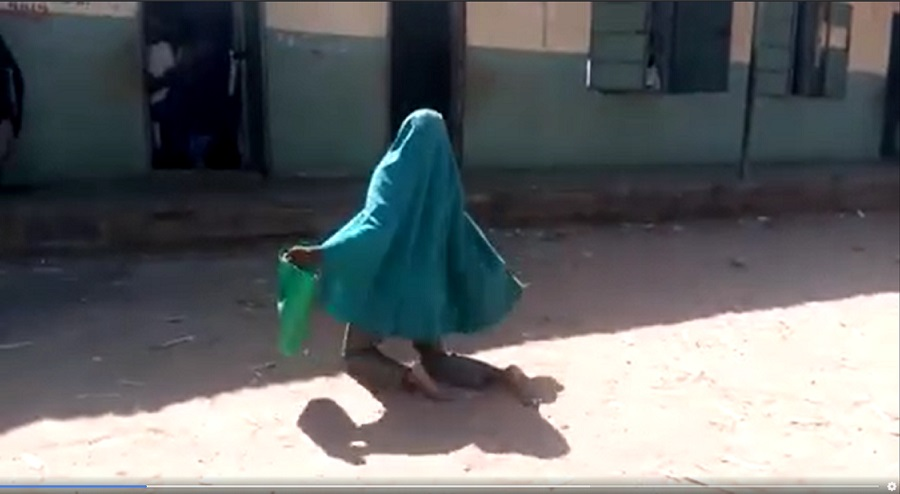 Kano's 11-year-old disabled girl, Fatima Shuabu