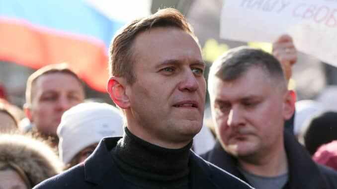 Biden's team calls for release of Russian activist Navalny