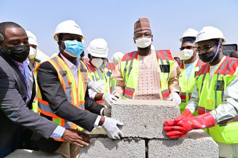 Nigeria's construction giant Cosgrove lays foundation for National Digital Innovation and Entrepreneurship Centre for NITDA