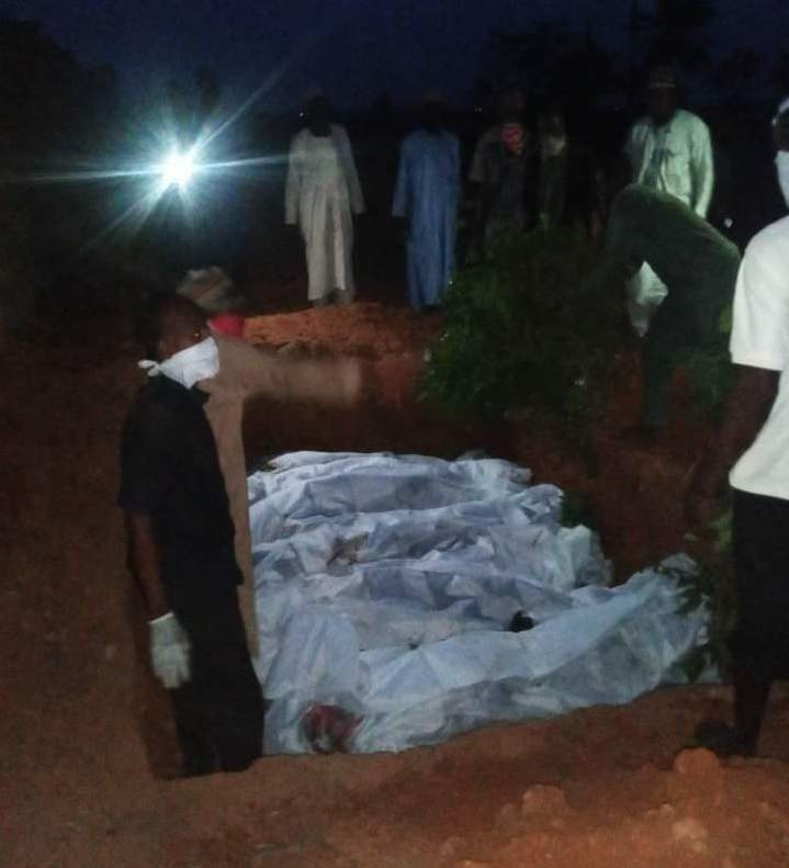 Victims of the ethnic killing in Sasa, Akinyele Local Government Area of Oyo State, have been buried in mass grave on Sunday February 14, 2021